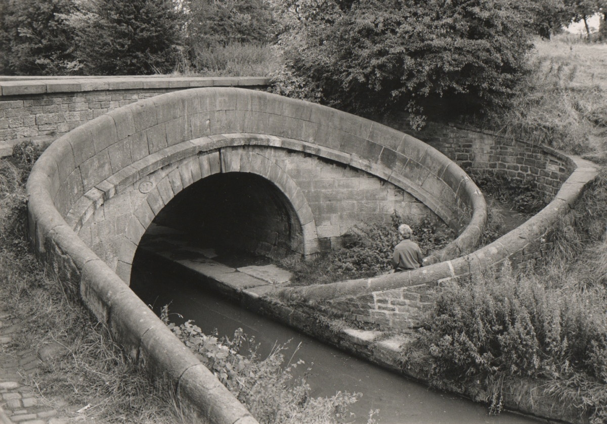 Towpath Bridge over Canal