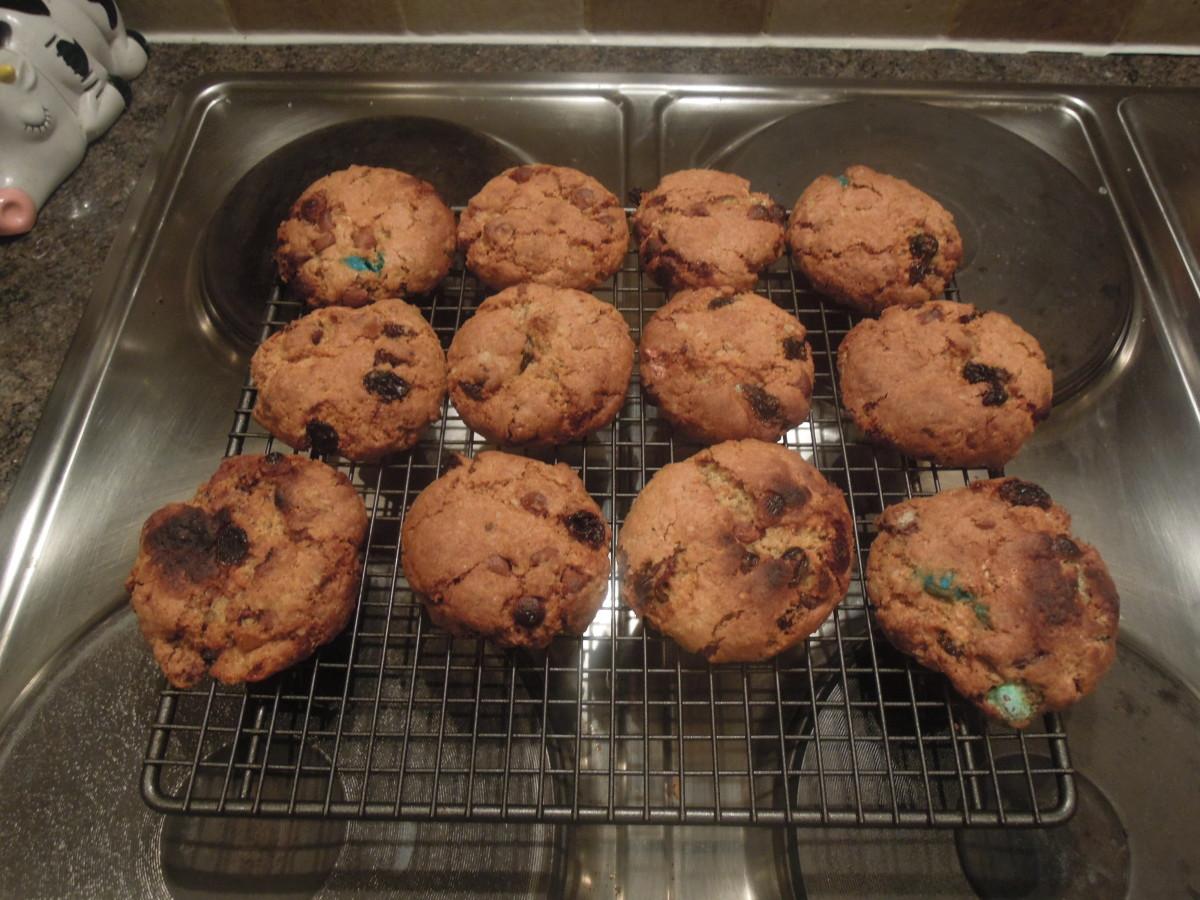 Christmas Smarties Cookie Recipe in a Jar