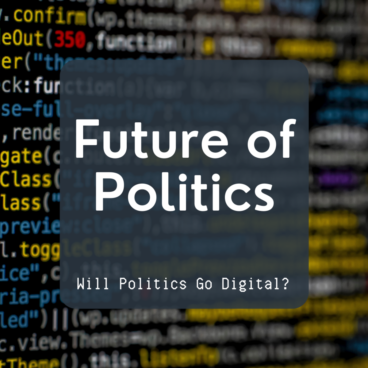 How will politics change as society changes?