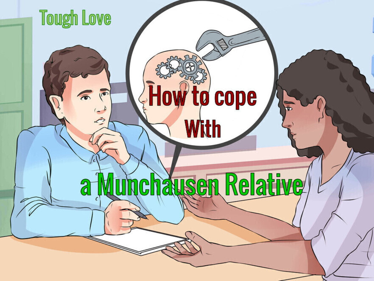 Munchausen Syndrome - Believing you are ill when there is nothing wrong at all