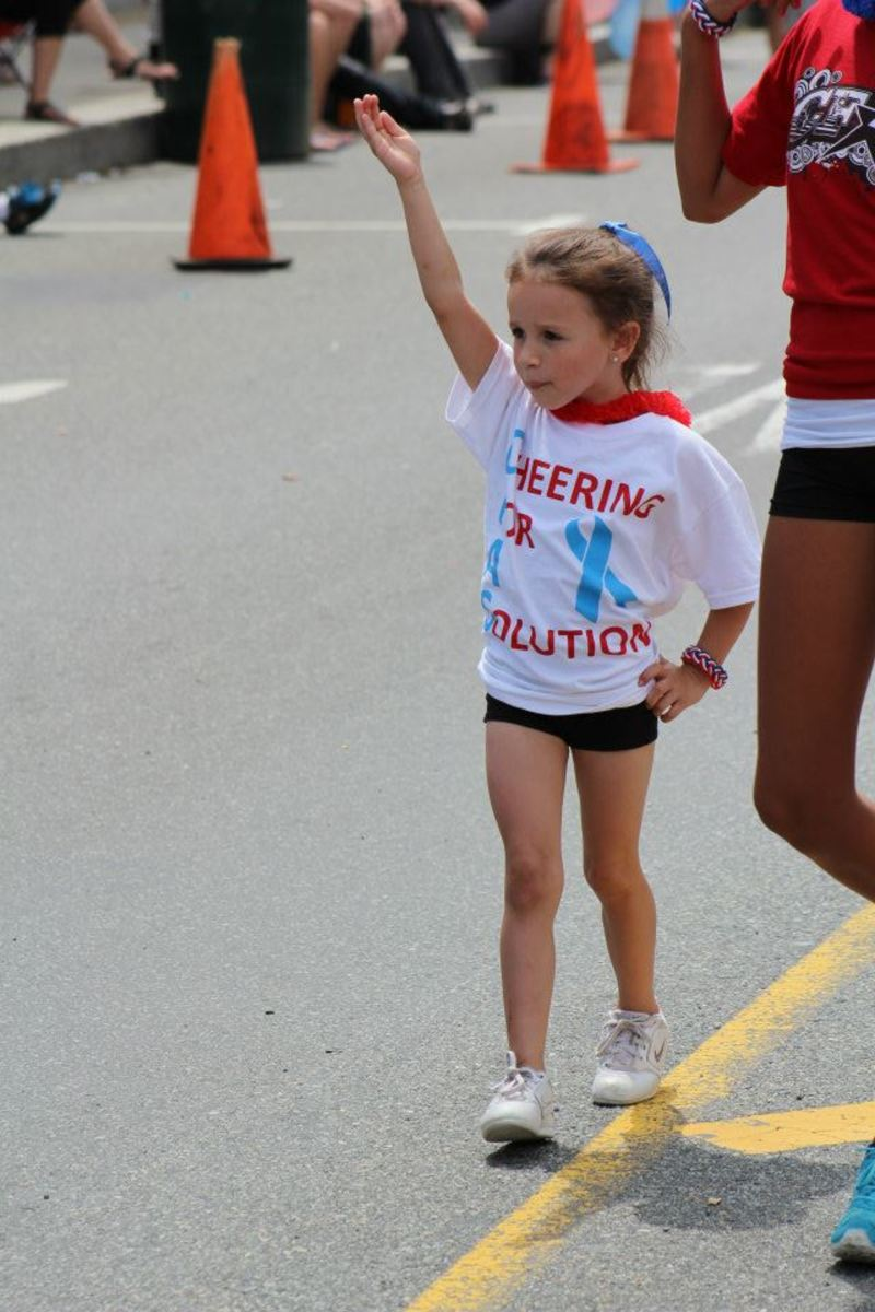 Cheer For A Solution:  Bullying Prevention...CFAS dedicated their 2012*2013 cheer season to their new cause.