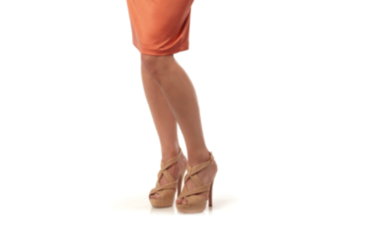 Flexing your knees allows blood to flow to the top of your head, which prevents fainting after long periods of standing.