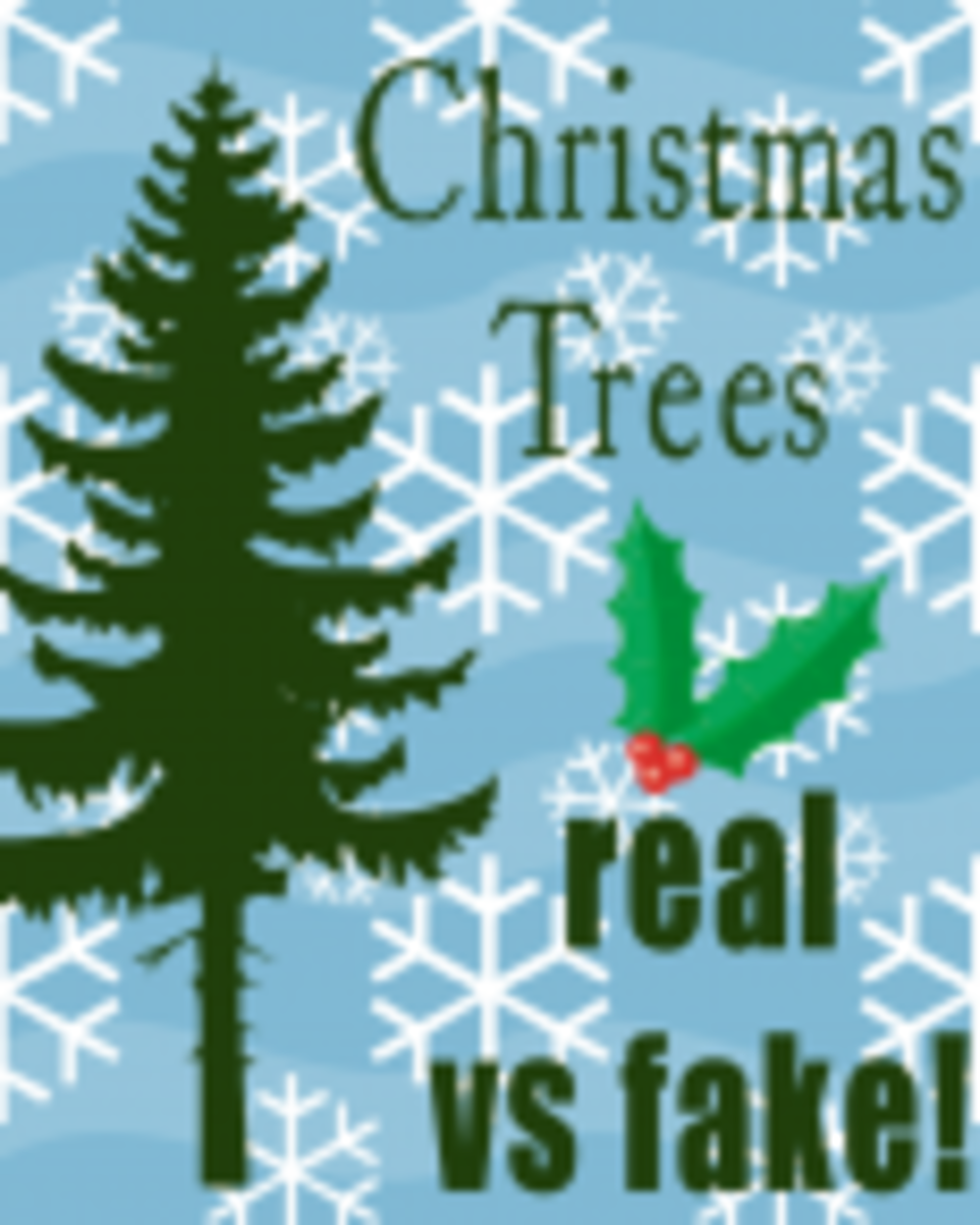 Real Christmas Trees vs Fake Christmas Trees