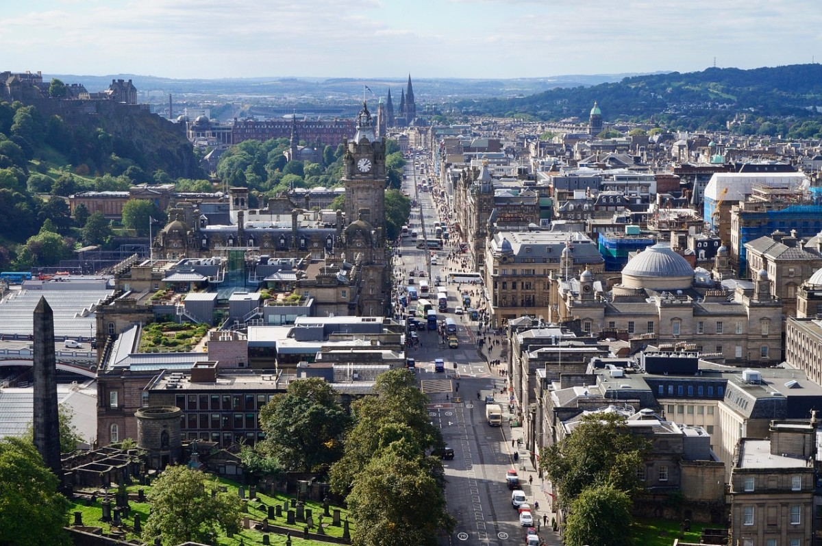 The Amazing History of Edinburgh, Scotland