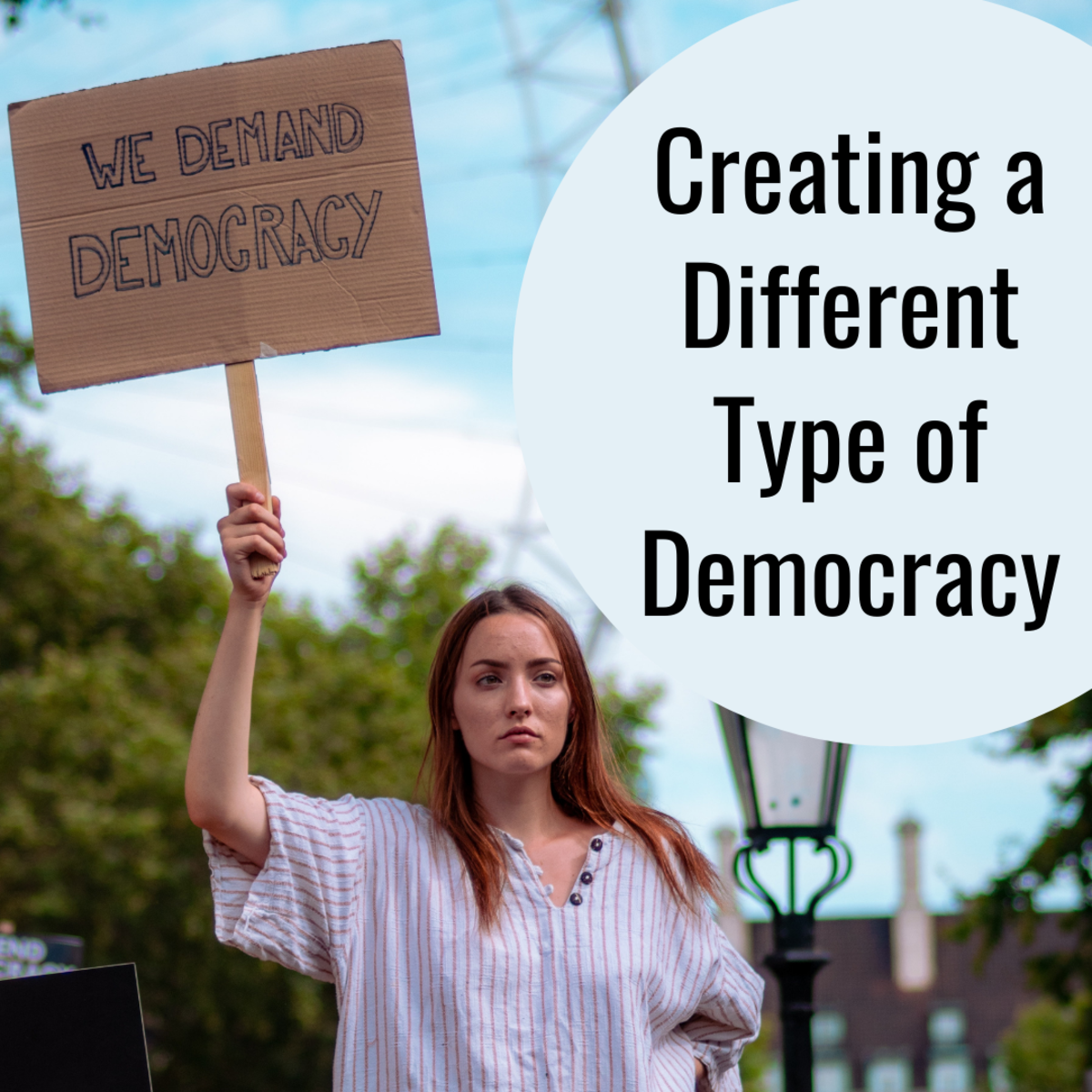 Explore some radical ideas for changing the democratic system.