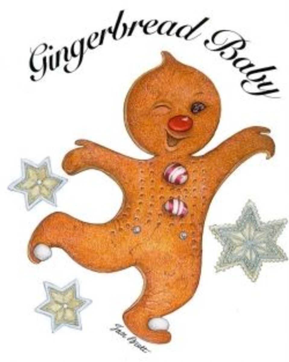 Gingerbread Baby image credit: http://www.janbrett.com/gingerbread_baby_masks_baby.htm