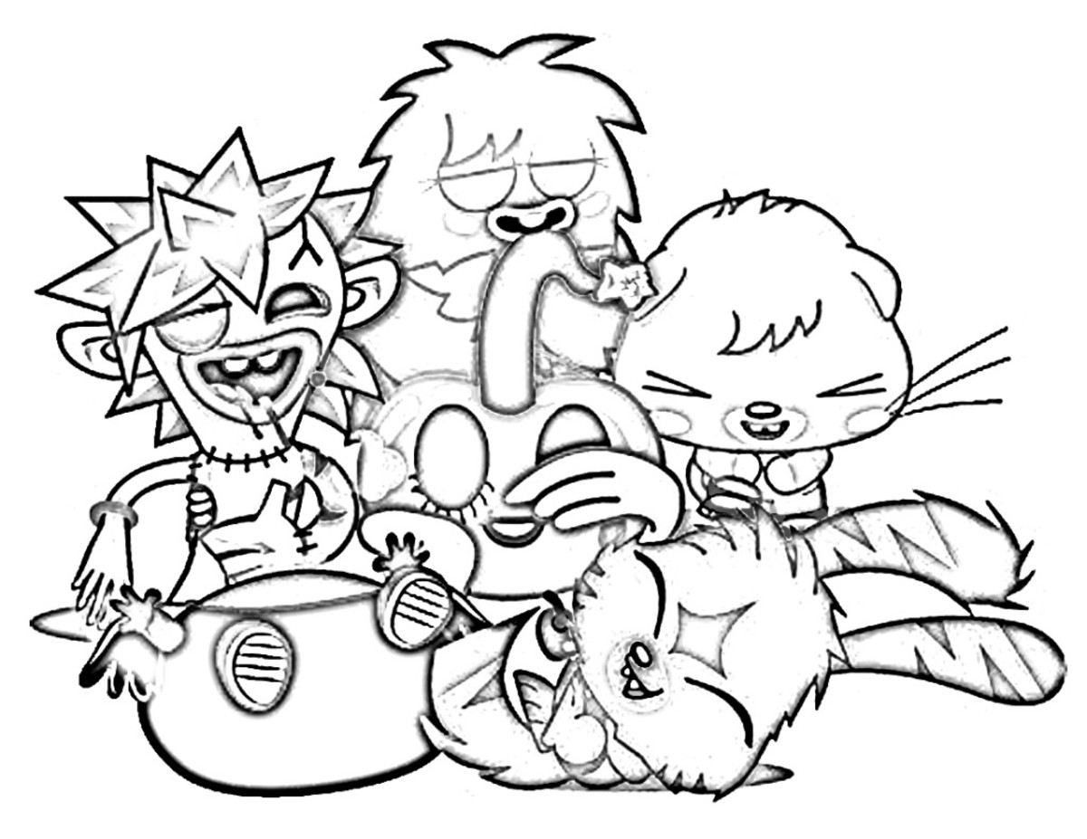 Hubpages for Moshi monsters coloring pages