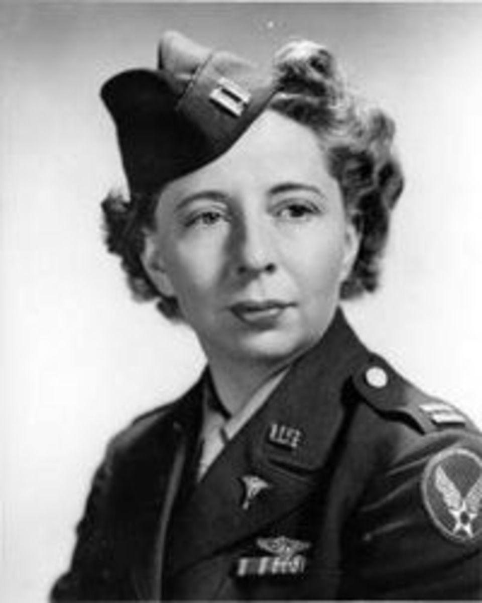 Ellen Church in the Army