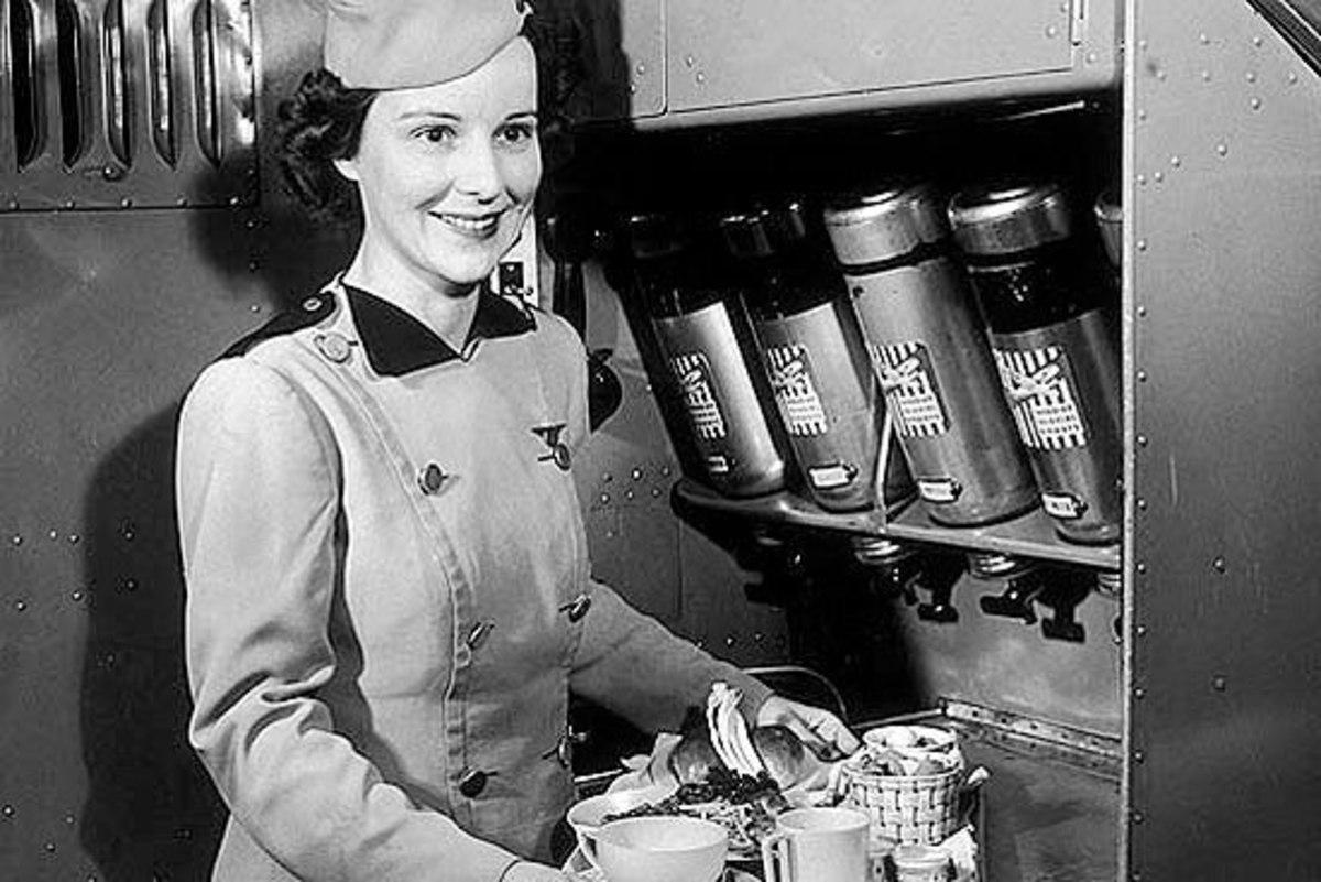 Ellen Church as first Stewardess