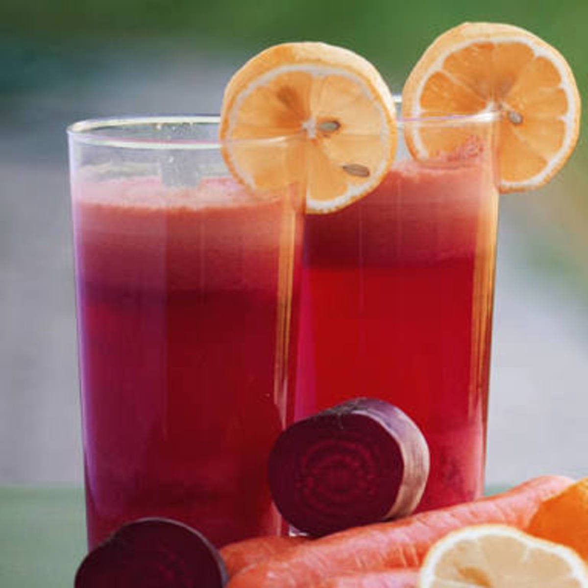 Carrot, beet root mocktail