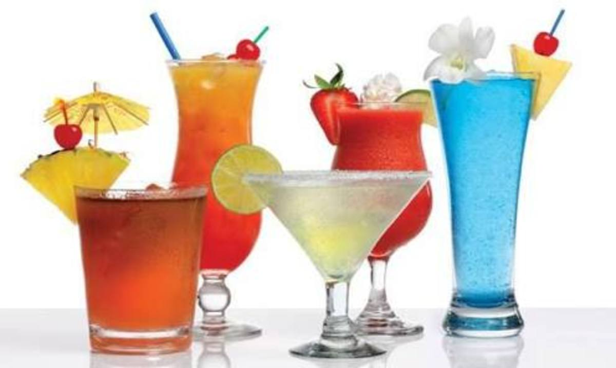 Alcohol free drinks are popular among women and children