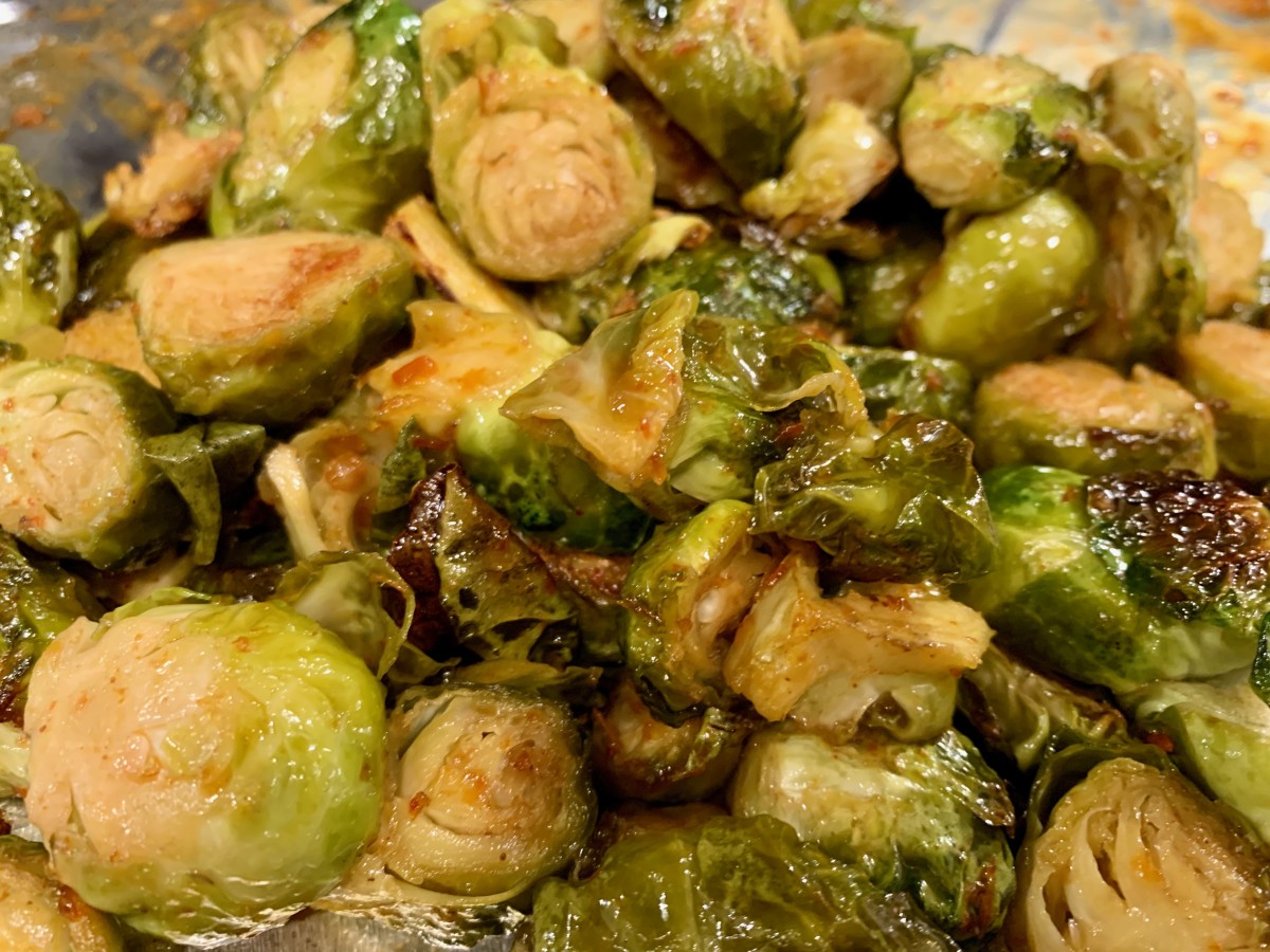 PuckerButt Brussels sprouts bring the heat!