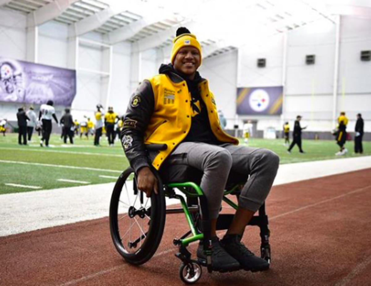 Pittsburgh LB Ryan Shazier was partially paralyzed in 2017 while making a tackle.  He recovered enough to walk on his own but was forced to retire in 2020 at the age of 28.