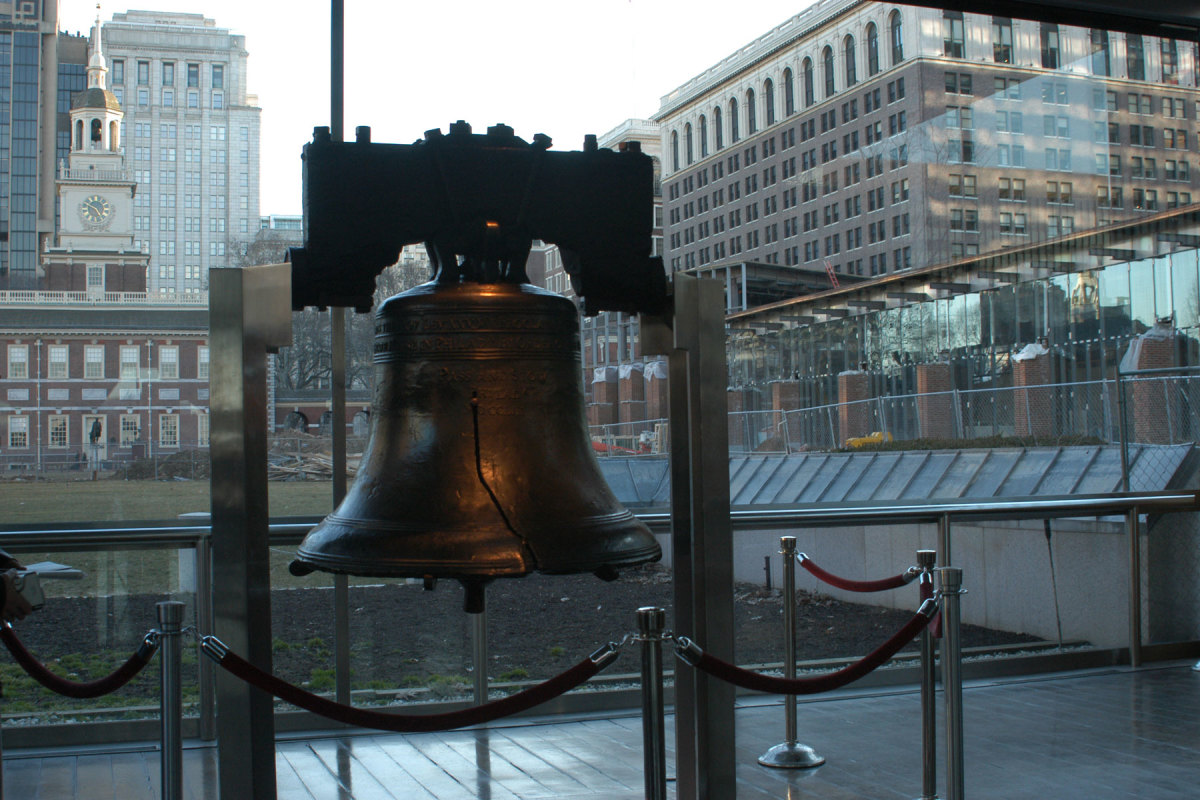 Inscribed on the Liberty Bell: Leviticus 25:10 - Proclaim Liberty throughout the land unto all the inhabitants thereof.