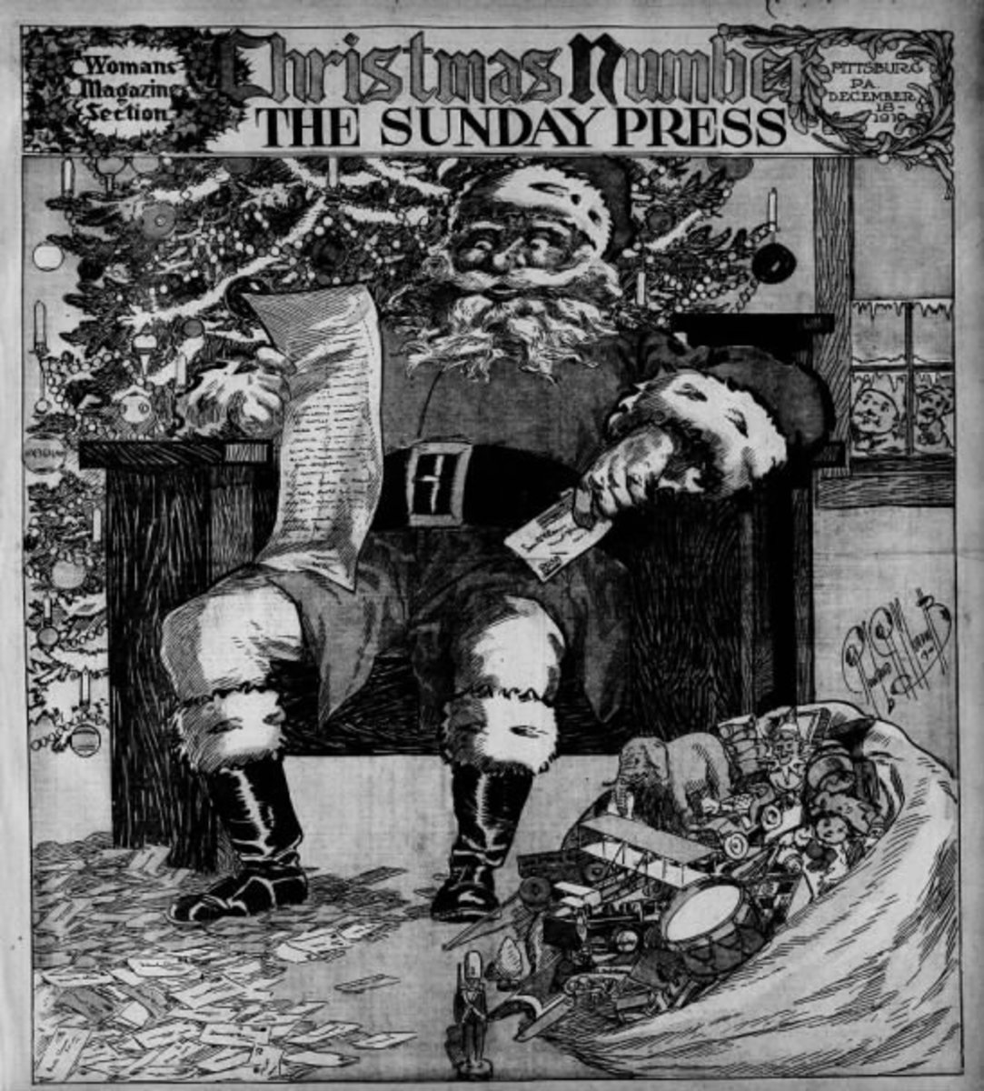 What Was Christmas Like in 1910?