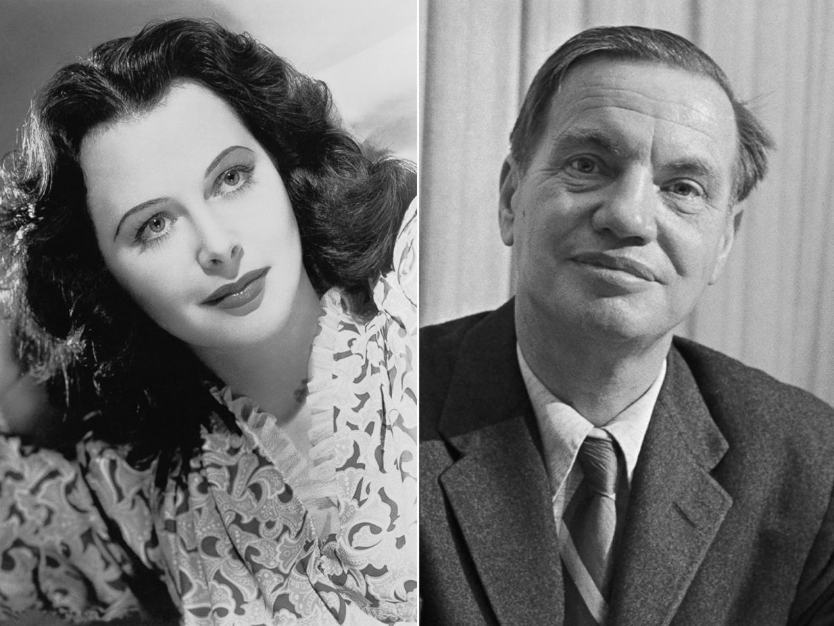 Hedy Lamar and George Antheil