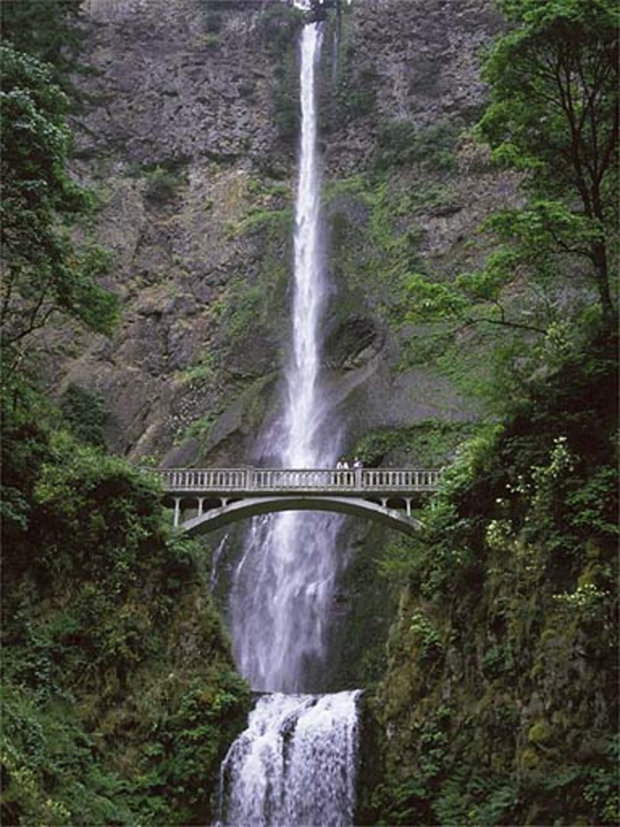 Multnomah Falls, The Columbia River Gorge, Oregon