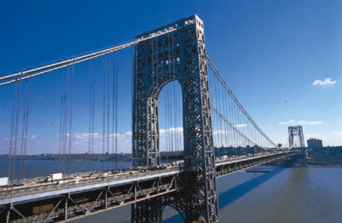 The George Washington Bridge, New York City