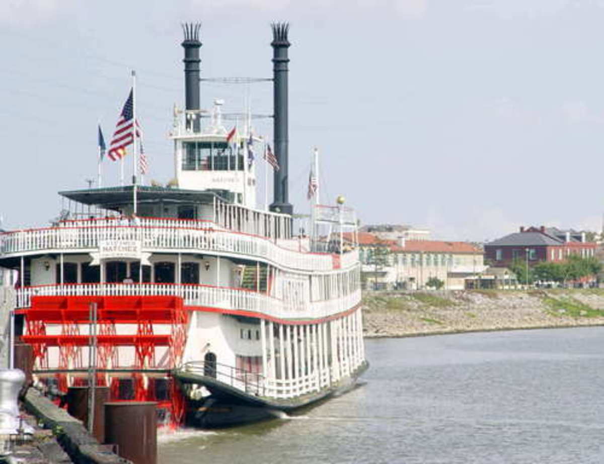 Paddle Wheel Boat, New Orleans, Louisiana