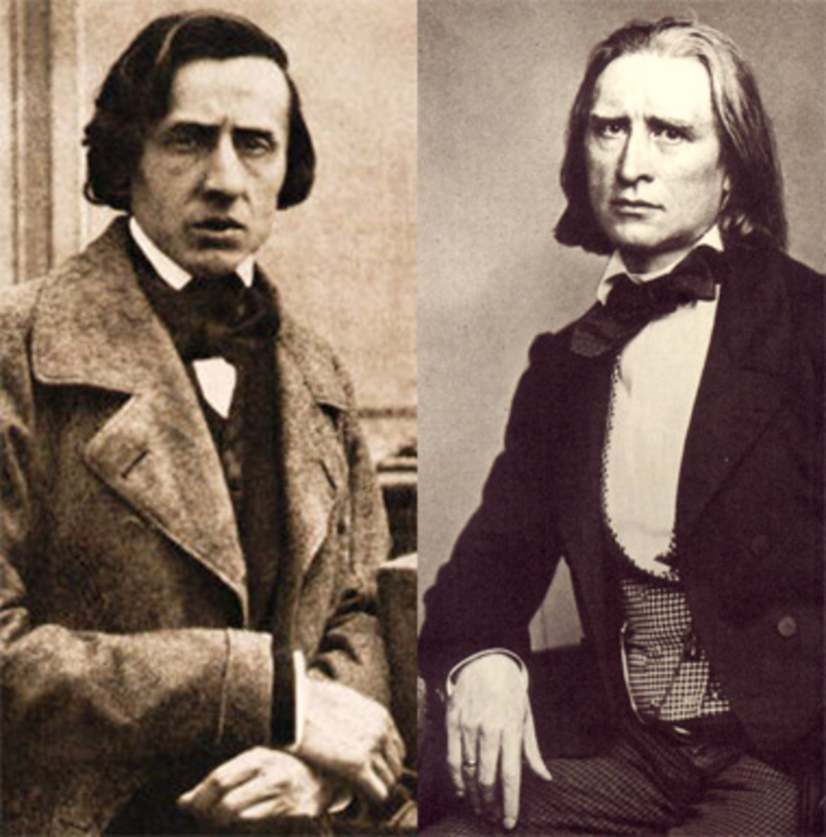 Romantic pianists and composers Chopin and Liszt, revolutionized the Etude