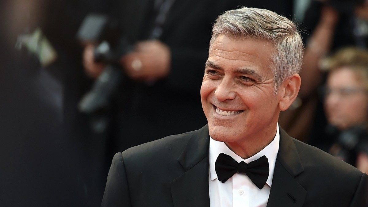 George Clooney remains handsome despite his age.