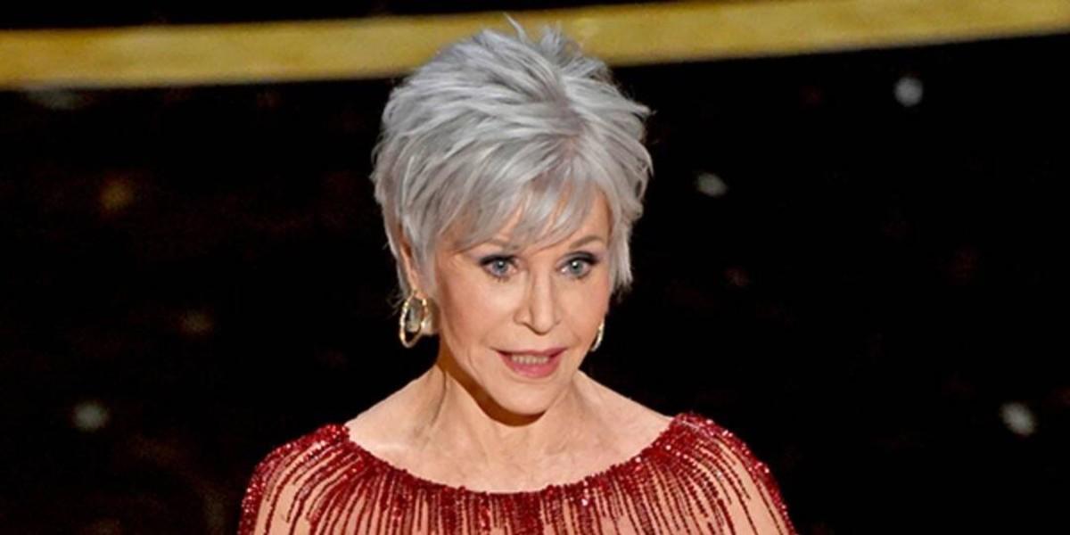 Jane Fonda candidly reveals her age.