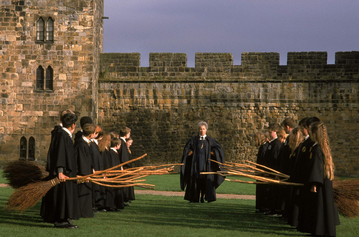 Flying Class in The Sorcerer's Stone