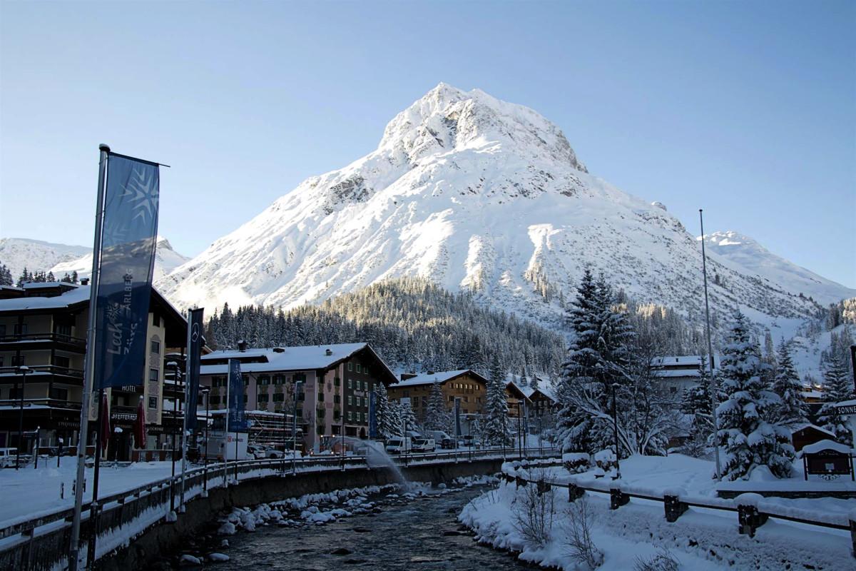 Lech-Zürs am Arlberg—the cradle of Alpine skiing.