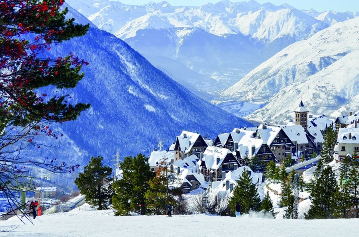 Baqueira-Beret—one of the world's finest ski-resorts.