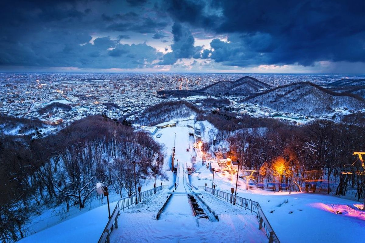 Sapporo is a paradise for snow lovers.