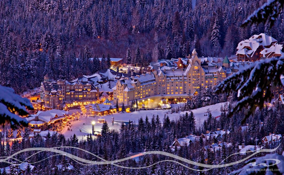Whistler is breathtakingly gorgeous in winter.