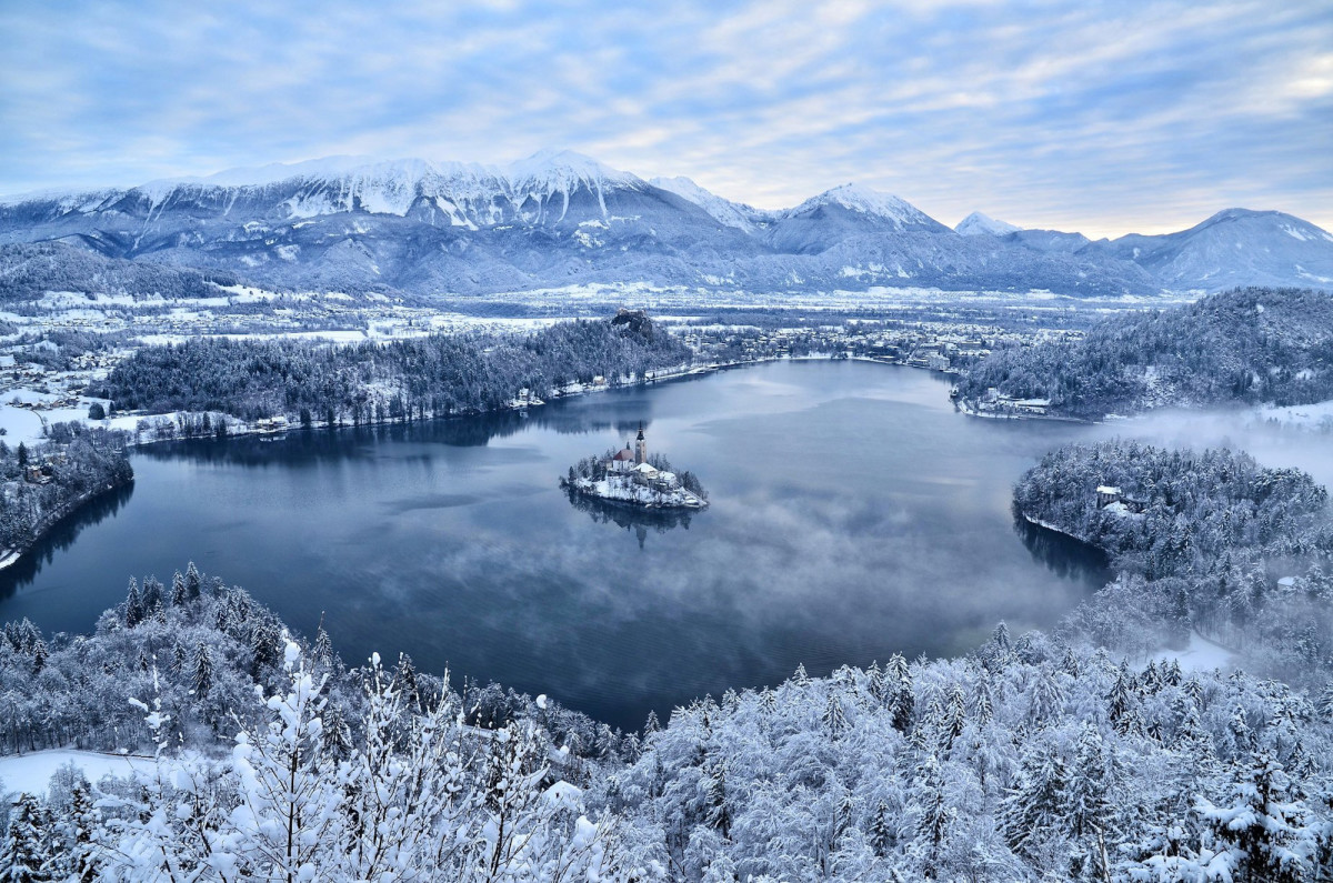 Lake Bled is a dream destination for romantic souls.