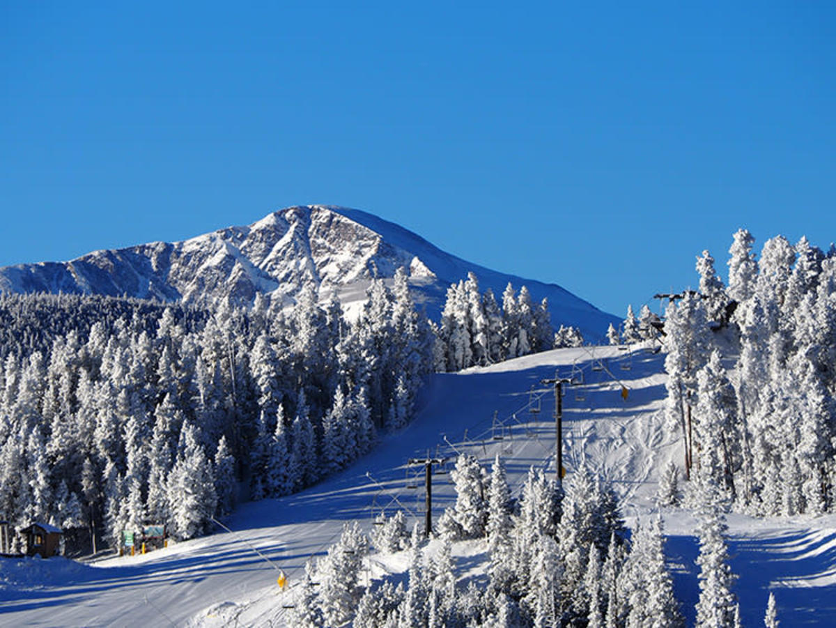 Colorado's Eldora Ski Resort is the perfect place to learn how to ski.