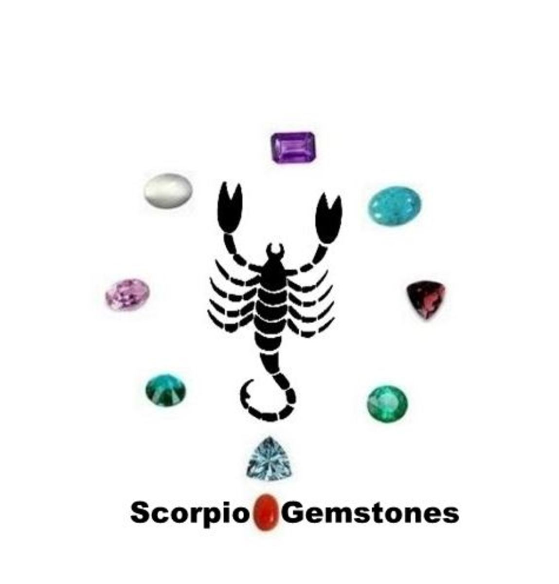 Scorpio Gemstones : Amethyst, Aquamarine, Kunzite, Garnet, Moonstone, Emerald, Dioptase, Coral and Turquoise