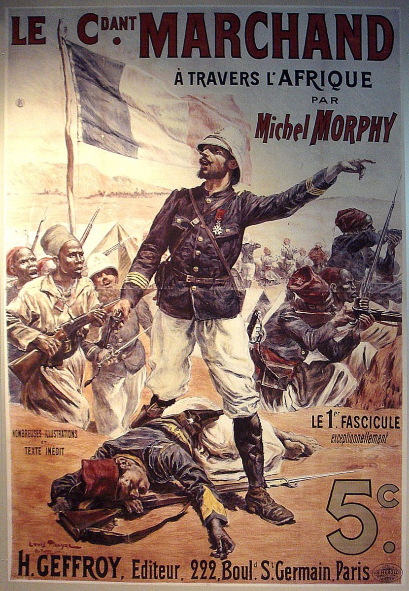 When Marchand and Kitchener met at Fashoda in the Sudan, defending rival colonial claims, it led to an intense colonial crisis between France and the United Kingdom.