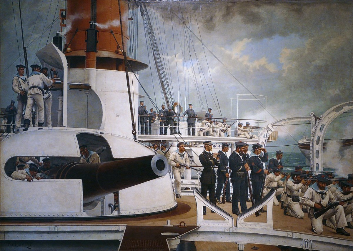 It was battleships that were supposed to compose the principal fleet arm against Italy or Germany, and they made useful enemies to keep this ship type as the mainstay of the navy.