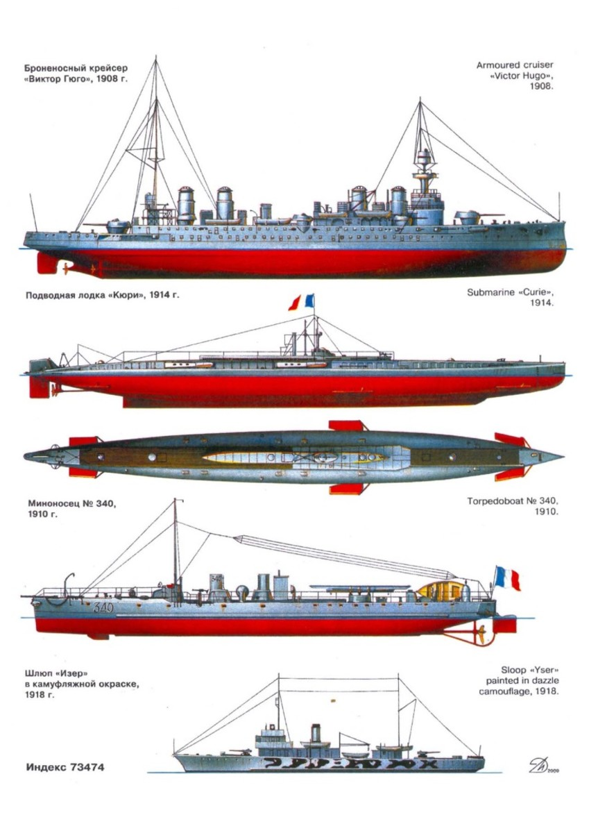 The torpedo boat, the third ship from the top, was a defining obsession of the early Jeune école.