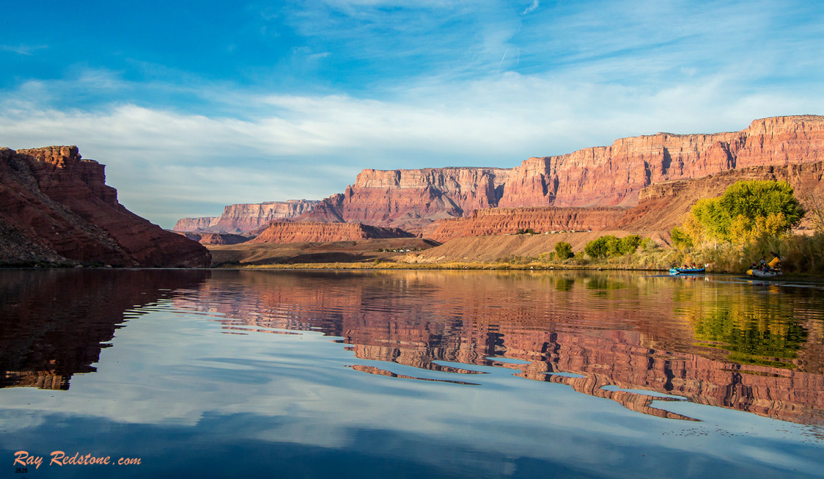 The Colorado River at Lees Ferry, Arizona.