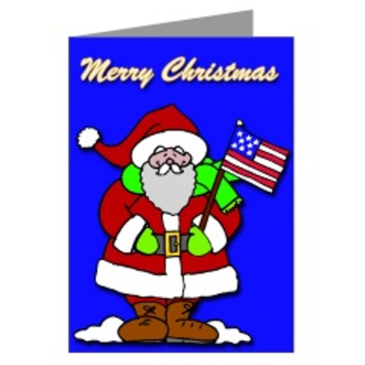 Patriotic Christmas Cards