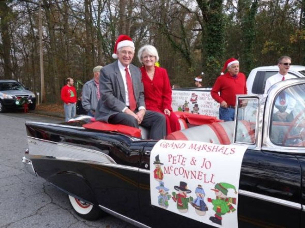 Pendleton Christmas Parade Grand Marshals