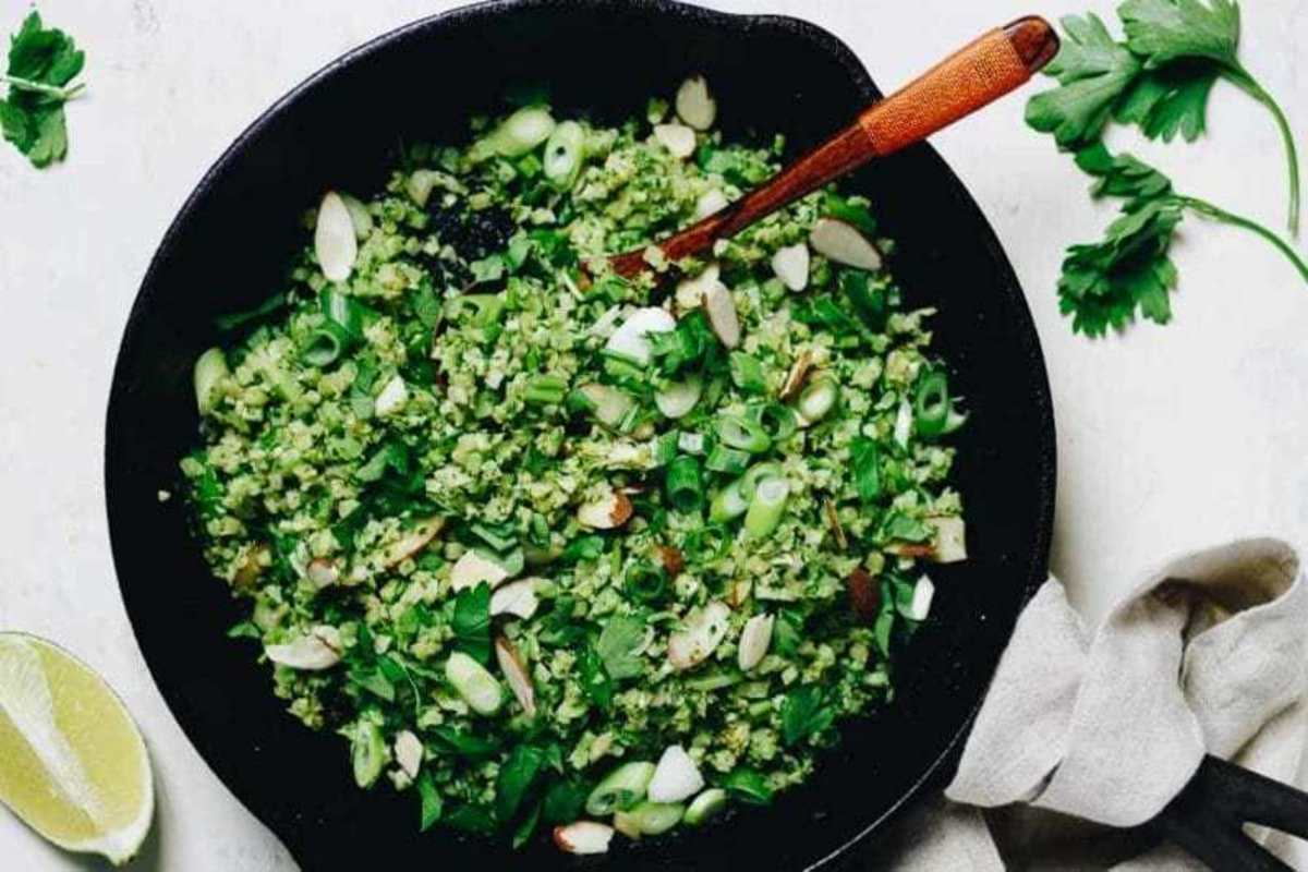 "Fried Broccoli ""Rice"""