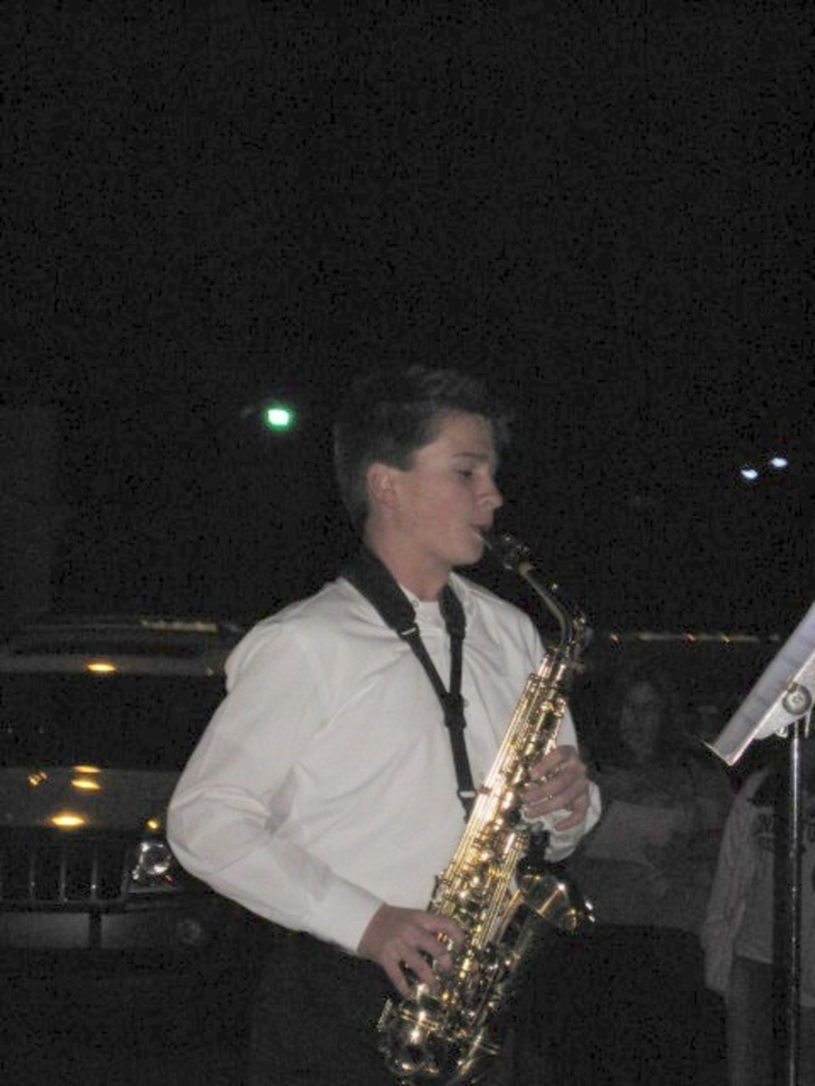 Brock Horton at Pendleton SC Tree Lighting 2010