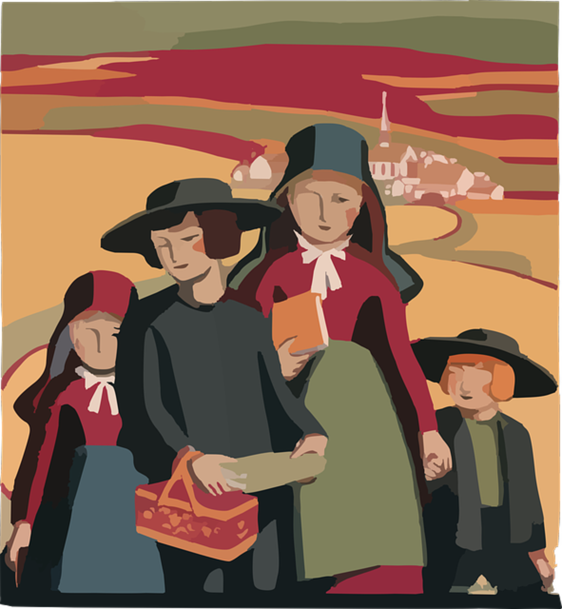 Family and Faith are cornerstones of value in the Amish family.