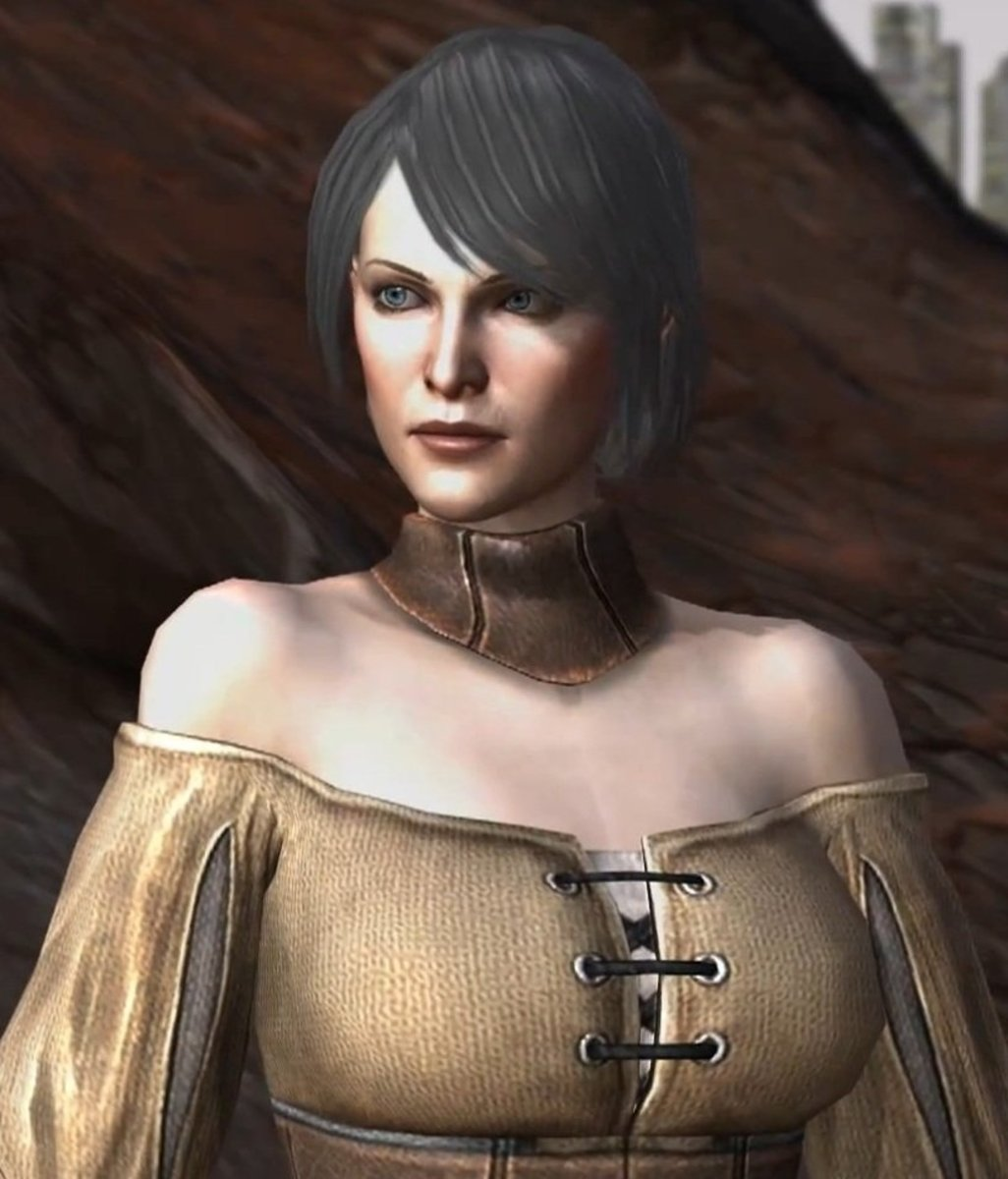 The default Leandra Hawke during the prologue.