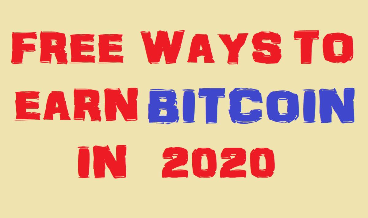 5 Free Ways To Earn Bitcoin