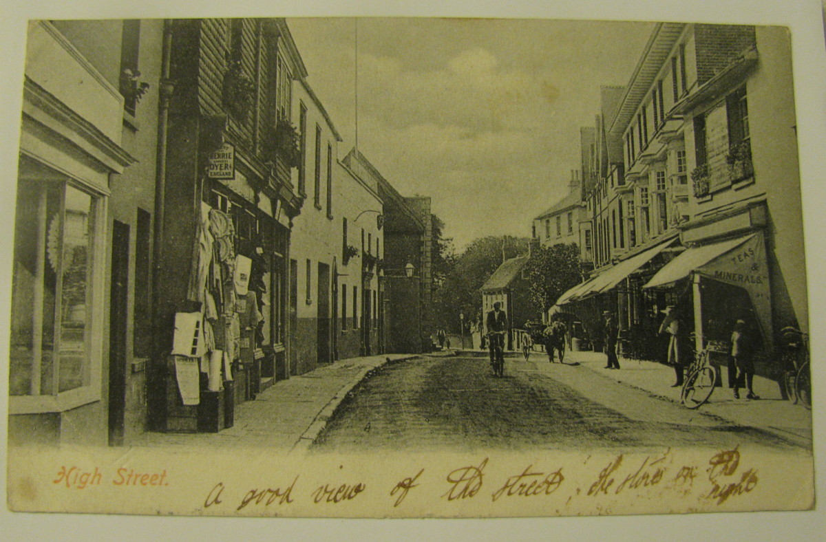 Hurstpierpoint as it was - Not much Different these days!