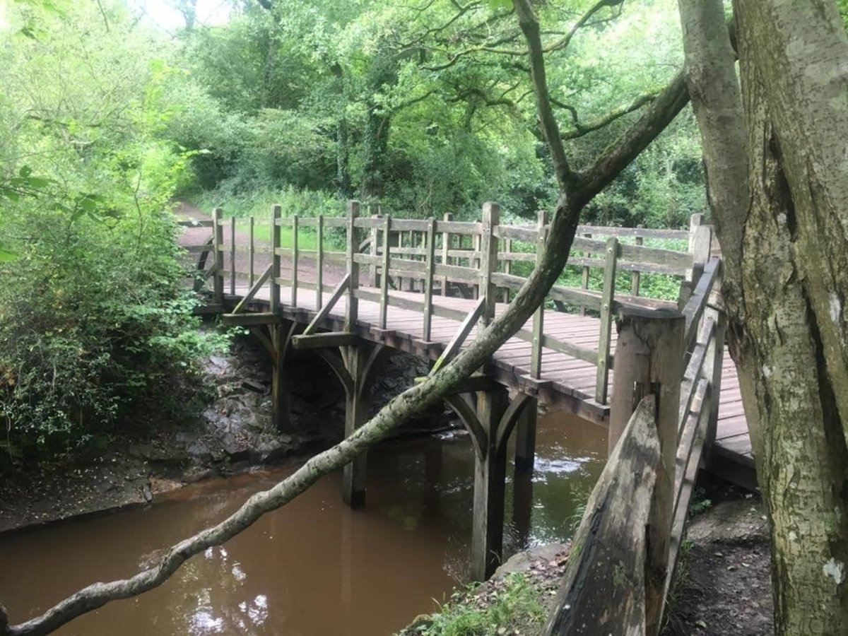 Bridge, which inspired the Pooh Sticks game in 'Winnie-the-Pooh- by A A Milne