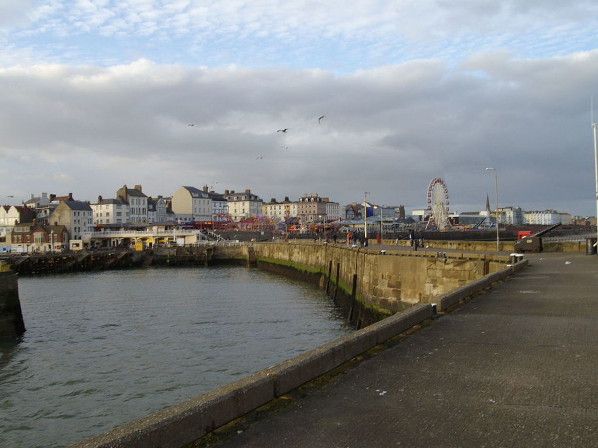 Bridlington Harbour & Town
