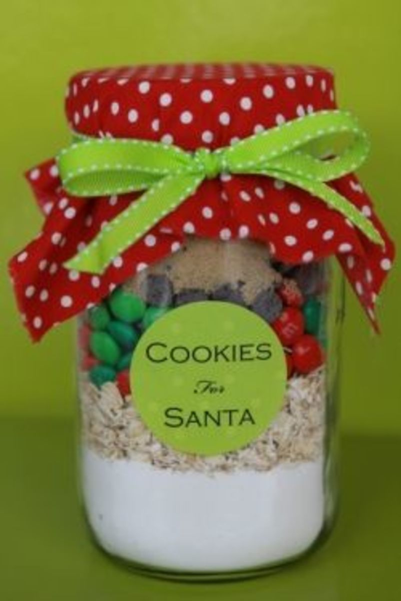 Recipes for Christmas Gifts in A Jar