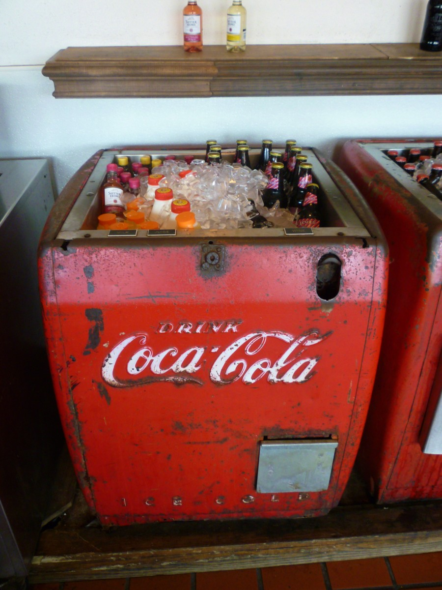 Want a soda?  Help yourself!